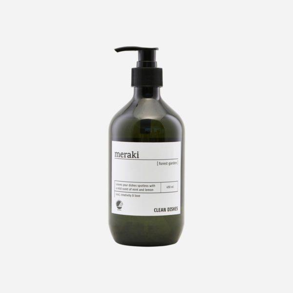 Čistiaci prostriedok na umývanie riadu a povrchov s vôňou kvetov v 490 ml fľaši.