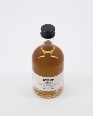 Vanilkový sirup do kávy v objeme 25 cl vhodný tiež do koktailov, smoothies alebo na palacinky.