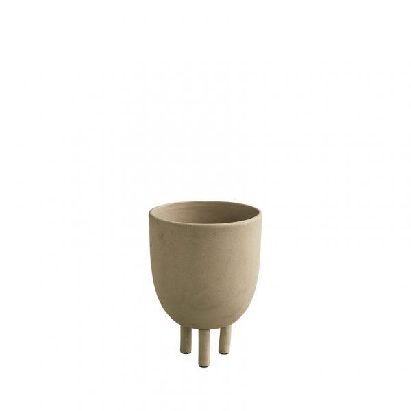 Umelecký ručne robený skulptúrny hrnček netradičného tvaru zo 100% keramiky.