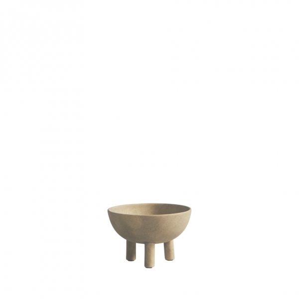 Umelecká ručne robená skulptúrna miska netradičného tvaru zo 100% keramiky.