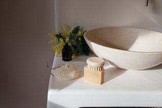 Ekologická špongia na umývanie zo 100% prírodnej bavlny.