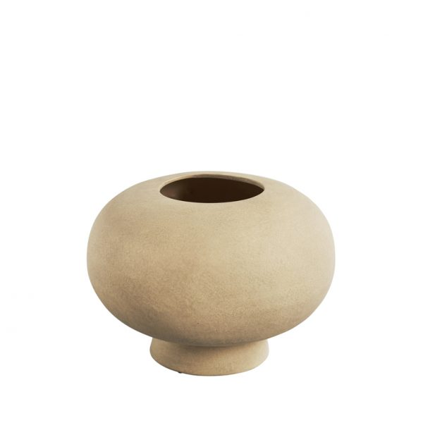 Umelecká ručne robená skulptúrna váza netradičného tvaru zo 100% keramiky.